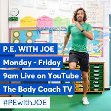 P.E with Joe Wicks