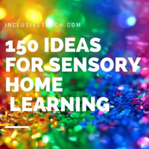 Sensory Learning Ideas