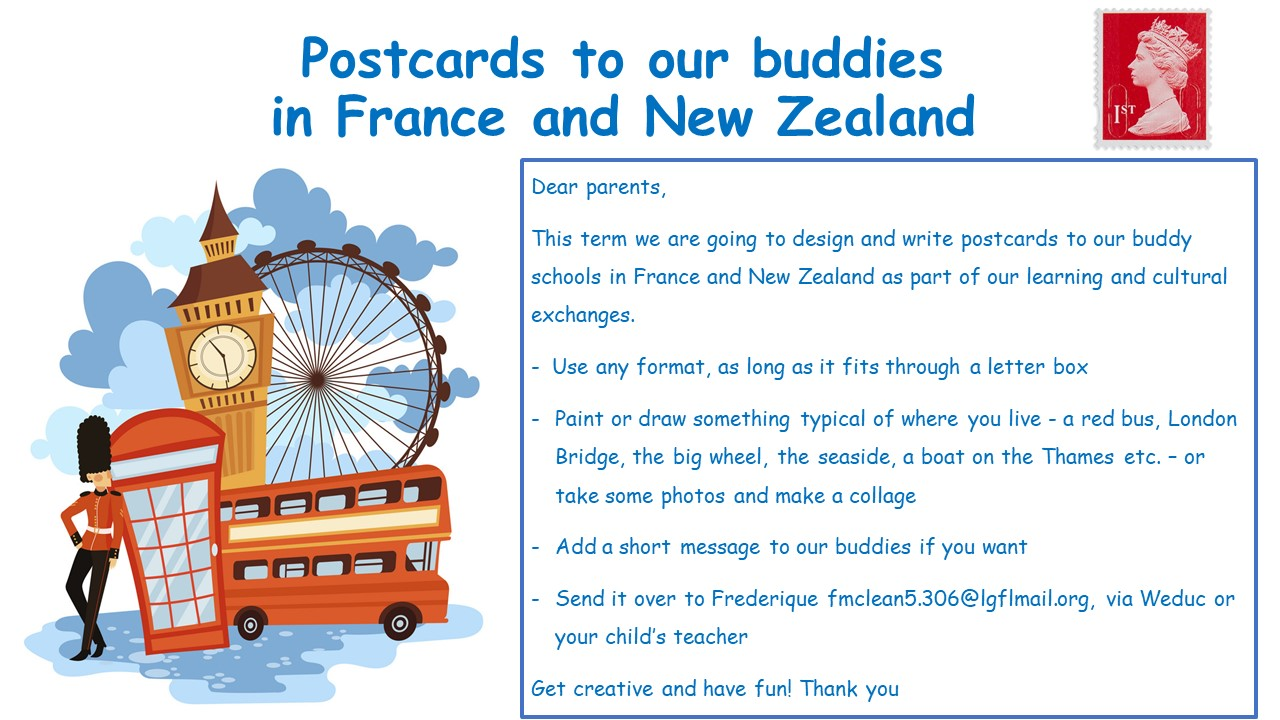 Postcards to our buddies